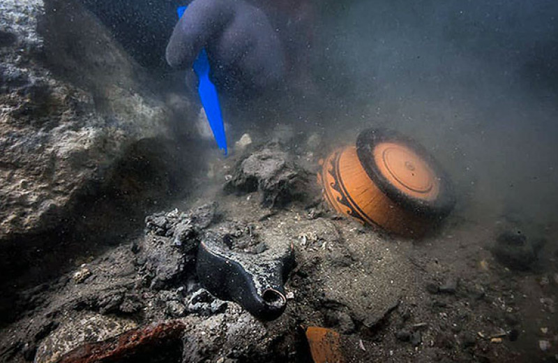 В затонувшем древнеегипетском порту нашли фрагменты корабля и греческое кладбище