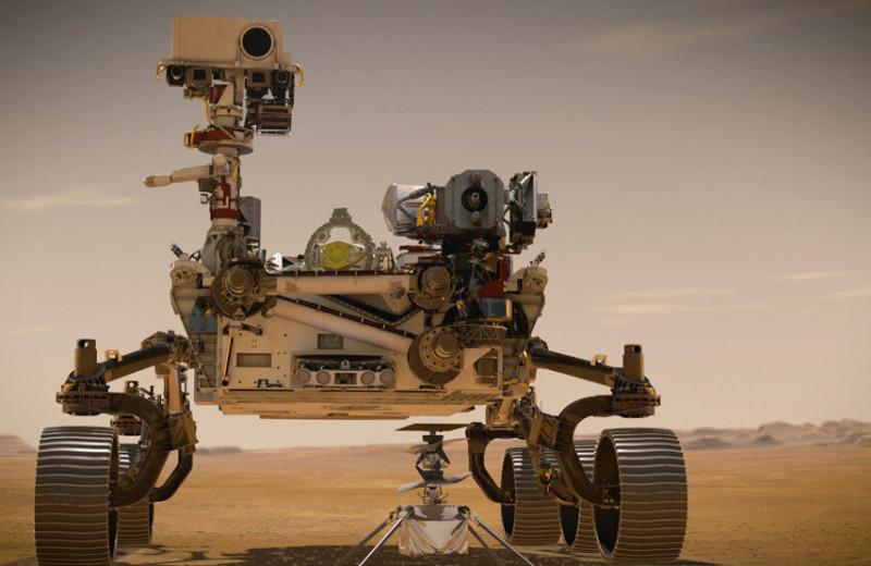 Сотрудничество Qualcomm и NASA сделало возможным первый управляемый полет над поверхностью Марса