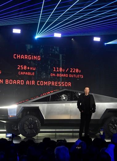 «Смесь грузовика и истребителя»: что эксперты и первые пассажиры говорят об электропикапе Tesla