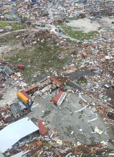 «Это Апокалипсис»: чудовищные последствия урагана «Дориан» на Багамах