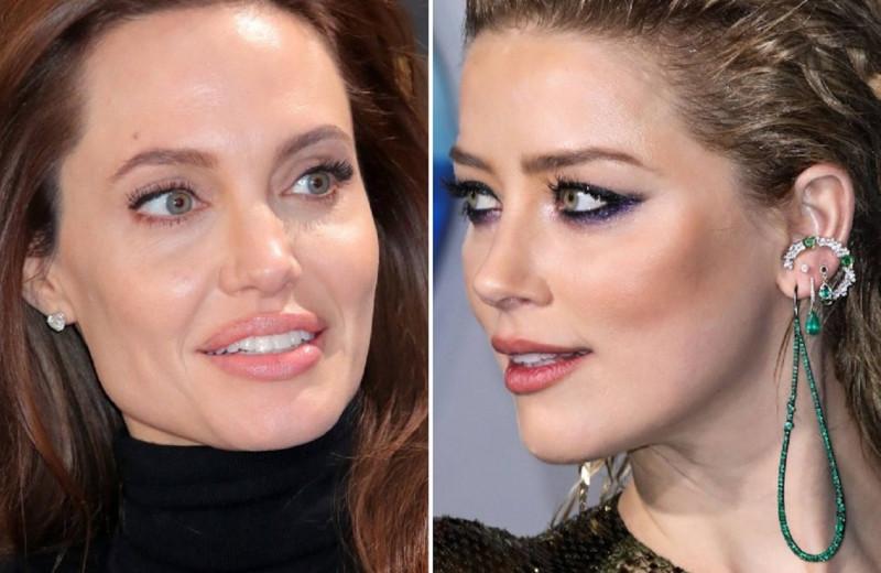 Главные разлучницы Голливуда: Анджелина Джоли, Эмбер Херд и другие звезды