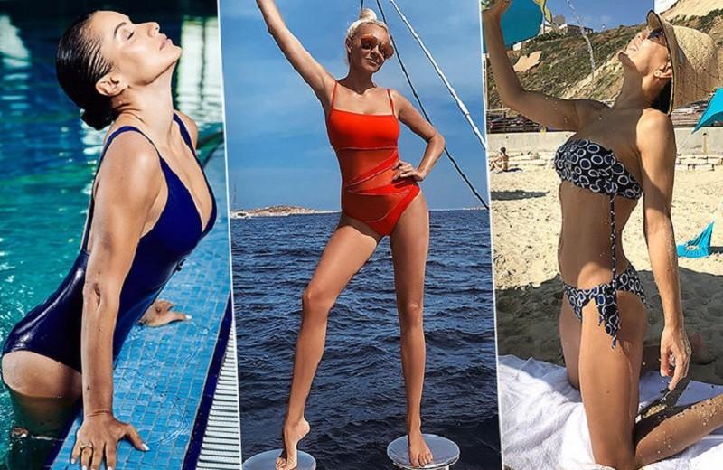 Яна Рудковская, Одри Тоту и другие звезды за 40, которые круто выглядят в бикини