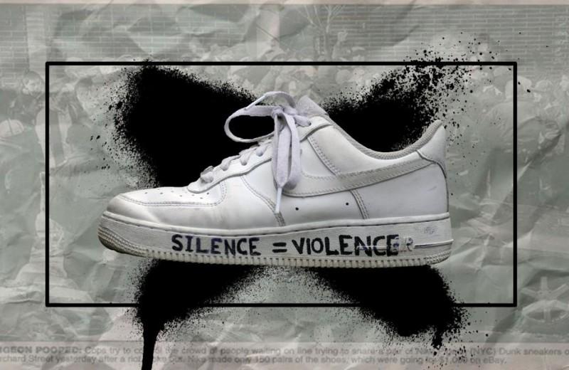 Обувь протеста: как кроссовки стали важной частью акций против расизма в США (и целью мародеров)