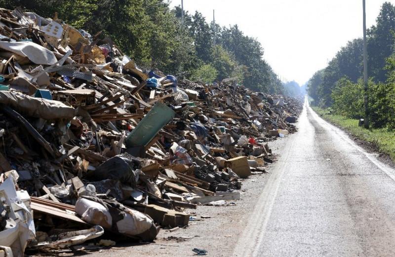 В Бельгии появилось «мусорное шоссе»: фото
