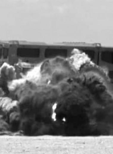 Сколько тротила нужно, чтобы взорвать южноафриканский броневик