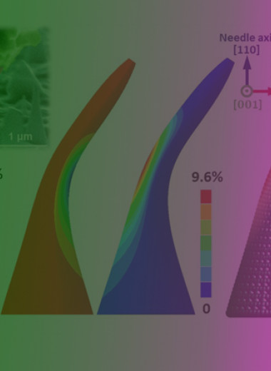 Механическая деформация превратит алмаз из диэлектрика в полупроводник и обратно