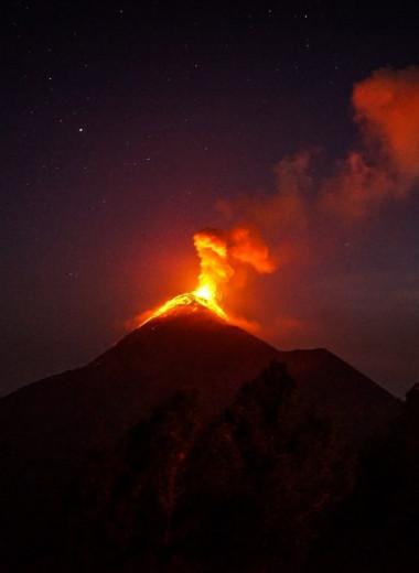 Десять самых мощных извержений вулканов