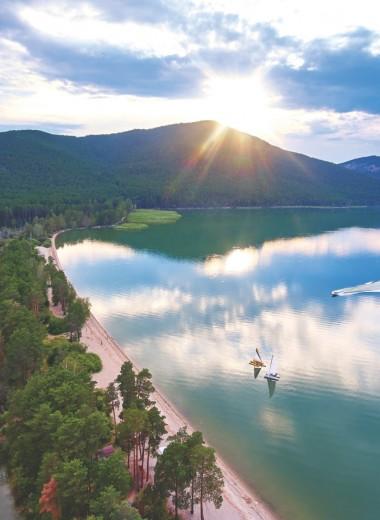 Северного Казахстана притягательная красота