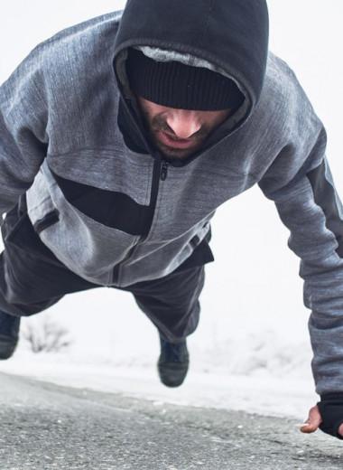 Как тренироваться в мороз