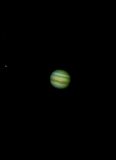 Юпитер использовали как детектор темной материи