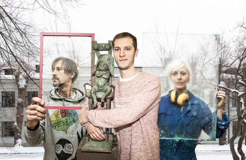 Иконописец, чудак из деревни и панк: кто творит в резиденции «Гаража»