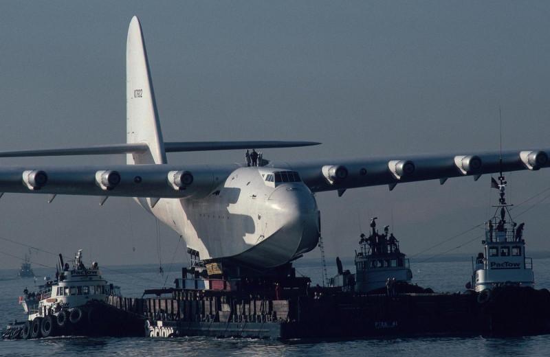 Самолет-амбиция Говарда Хьюза: самая большая летающая лодка
