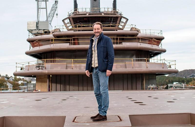 Абсолютный карантин: зачем нефтяник-миллиардер строит крупнейшую в мире яхту за $350 млн