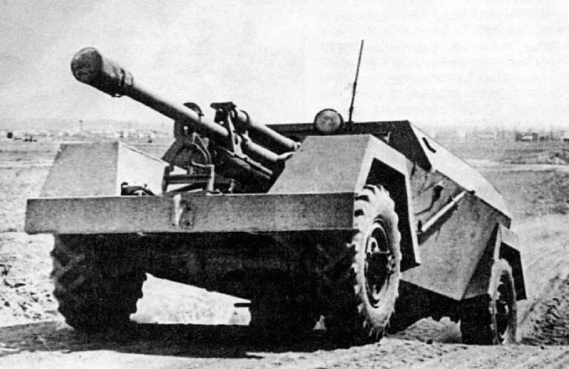 Катафалк с пушкой: история необычной советской самоходки КСП-76