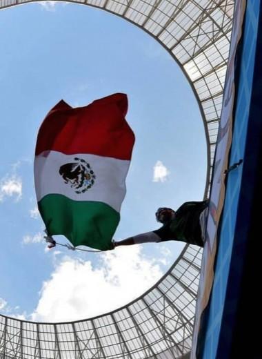 Прыжки мексиканских болельщиков вызвали землетрясение
