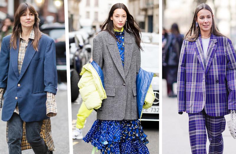 Как нельзя носить оверсайз-пиджак: 6 признаков, что ты делаешь это неправильно