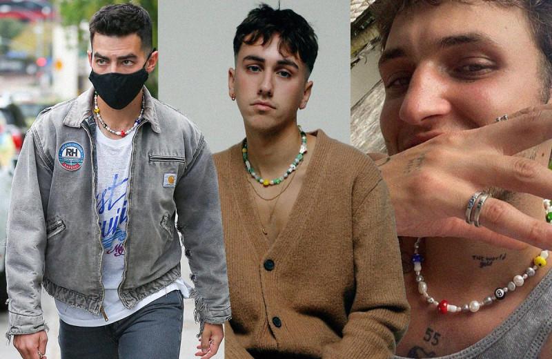 Мужские украшения будущего: создательница ian charms – о новой маскулинности, бусинах из России и Джастине Бибере