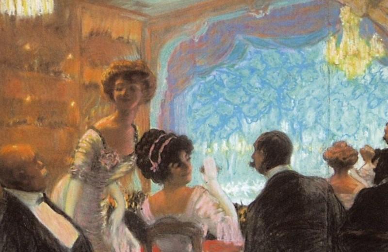 Театральный этикет в XIX веке