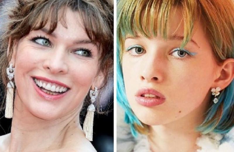 Как выглядят дочери Милы Йовович и других голливудских актрис с русскими корнями
