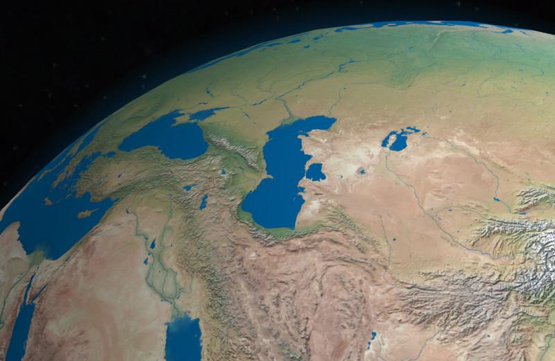 Каспийское море может обмелеть на треть к концу века