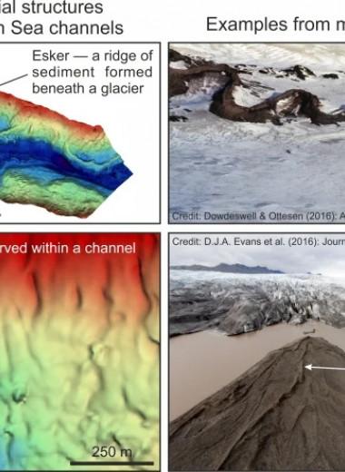 Удивительные ландшафты на дне Северного моря показали древнее прошлое Земли