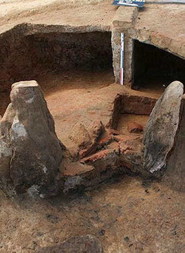 На севере Франции нашли остатки крупного поселения эпохи Меровингов