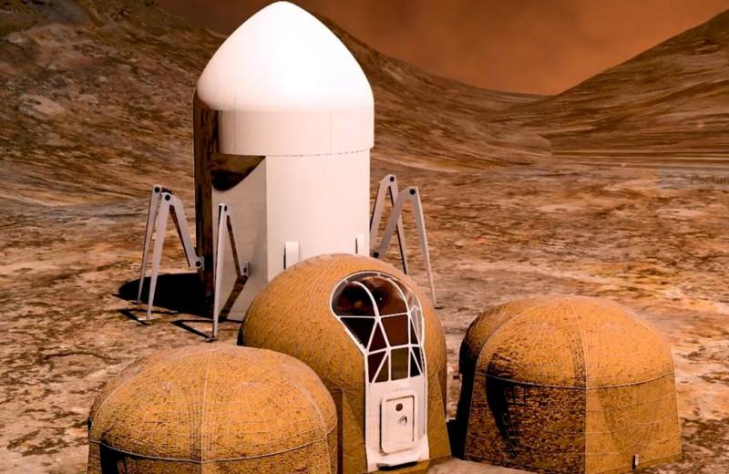 Какими будут дома на Марсе? Пять финалистов конкурса от NASA