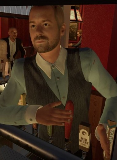 Британец воссоздал в виртуальной реальности любимый бар. Он изучил основы 3D с нуля