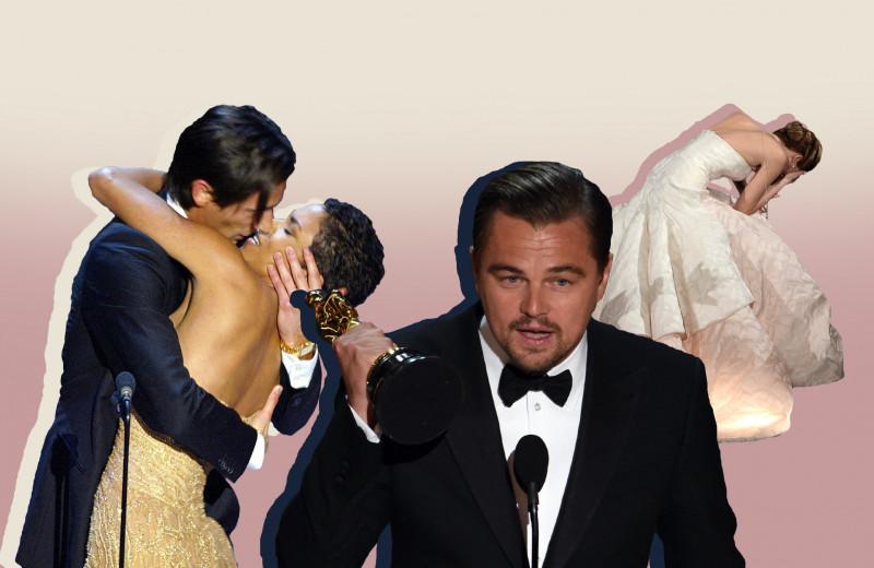 20 самых знаковых моментов за всю историю премии «Оскар»