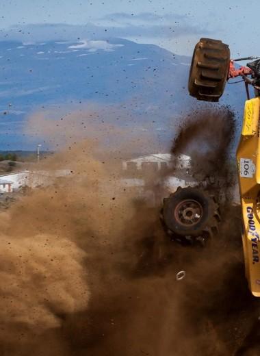 Formula Off-Road: гонки по вертикальной стене