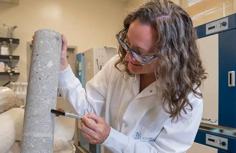 Открыты бактерии, живущие в бетоне: что они едят и как могут пригодиться