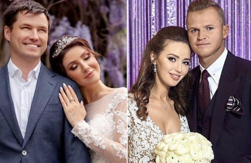 Самые красивые венчальные платья звездных россиянок: Макеевой, Костенко и других