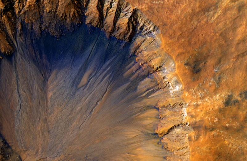 Соленую воду на Марсе посчитали непригодной для жизни