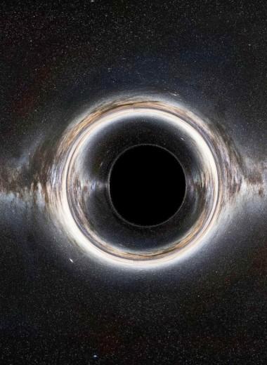 За горизонтом событий черных дыр: прощальный «вальс» света