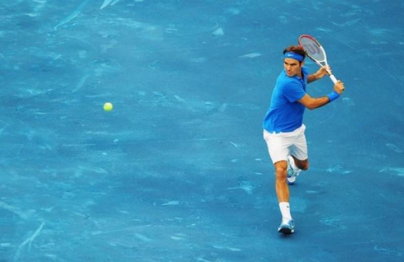 Почему теннисные корты больше не делают синего цвета
