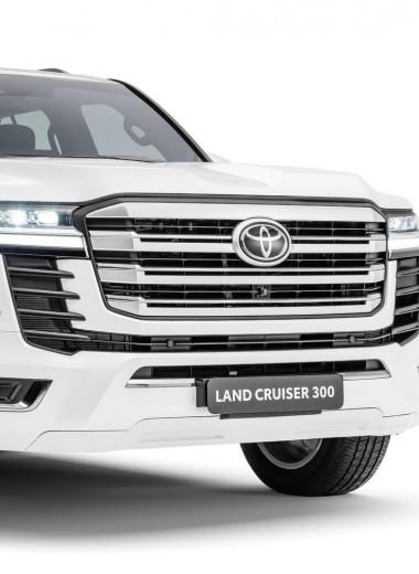 Новая платформа и двигатели V6: Toyota представила внедорожник Land Cruiser 300