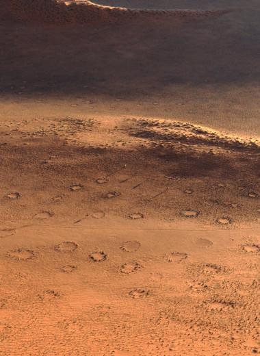 Откуда в пустынях взялись загадочные «круги фей»?