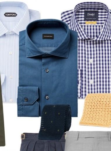 Идея на весну и лето: оливковый пиджак