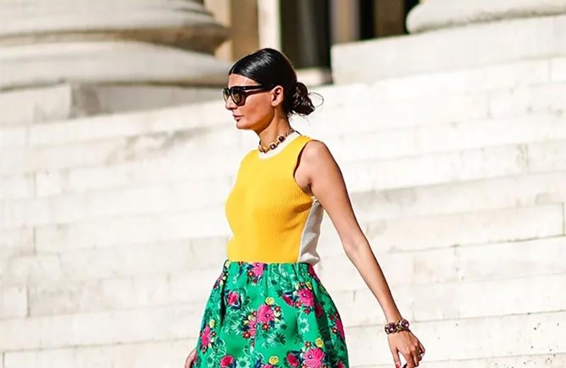 Как сочетать цвета в одежде: 10 способов правильного