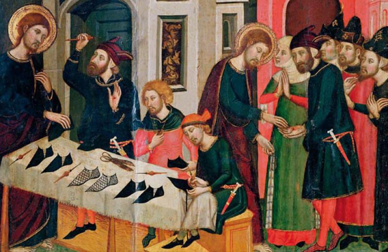 Средневековая мода на длинноносые башмаки стала причиной бурсита
