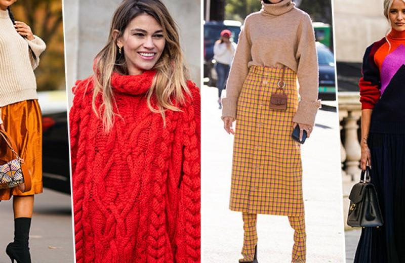 Согреваемся стильно: как выбрать тёплый свитер