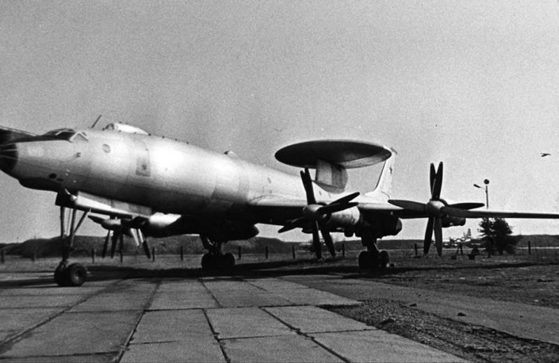 Первый советский АВАКС: Ту-126