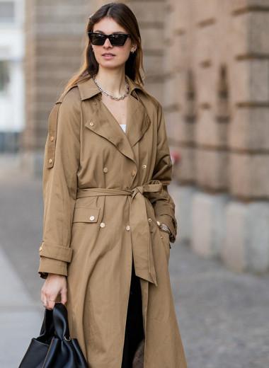 Это лишает тебя стиля — неочевидные ошибки при выборе модного тренча