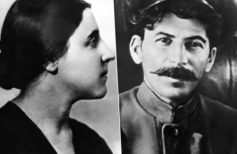 Замужем за злом: трагическая судьба жены Сталина Надежды Аллилуевой