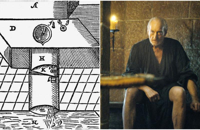 Как первый в истории туалет со смывом связан с «Игрой престолов»