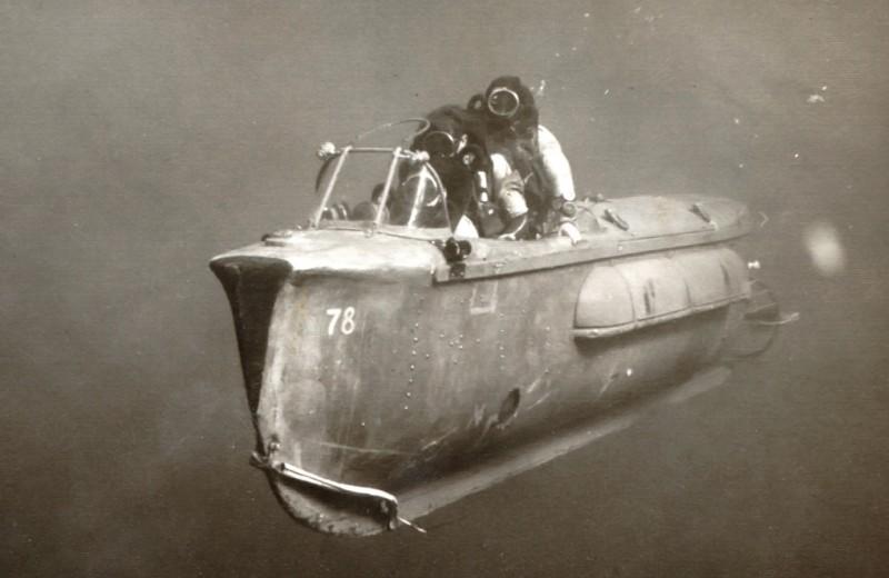 Боевые торпеды с человеком-пилотом: что это было и зачем