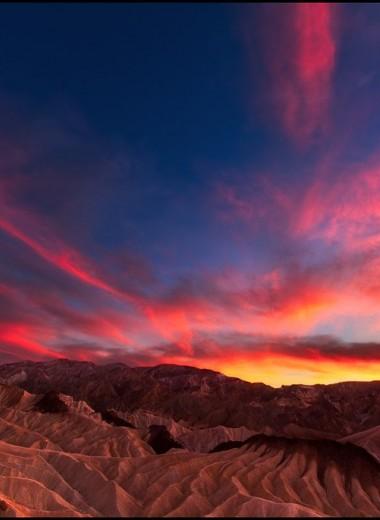В Долине Смерти 54,4°C. Такой жары на планете не было больше 100 лет