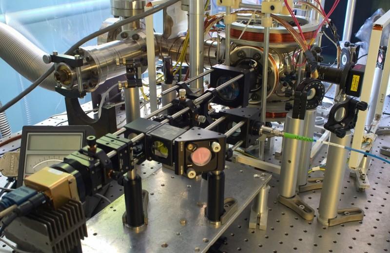 Атом рубидия захватили в оптическую ловушку