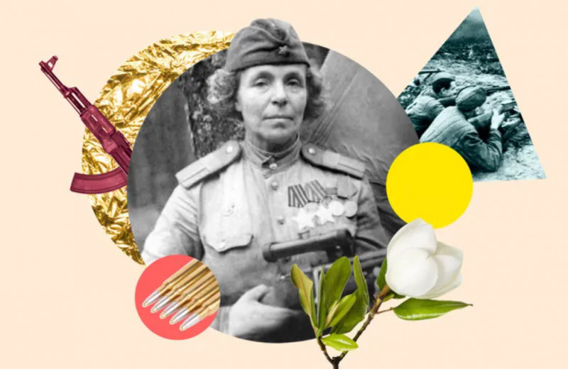 Мама Нина и ее 512 снайперов: история Нины Петровой, ушедшей на фронт в 48 лет