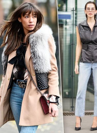 8 модных осенних образов: с чем носить жилетку осенью